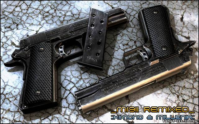 Colt 1911 Kim/Mill - '09 remix