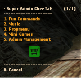SAC: Super Admin CheeTaH - Версия 2.0