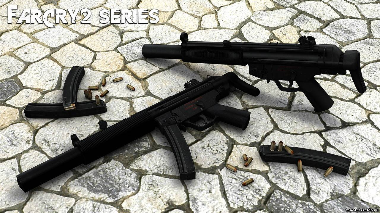 My FarCry2 Styled MP5 Animations